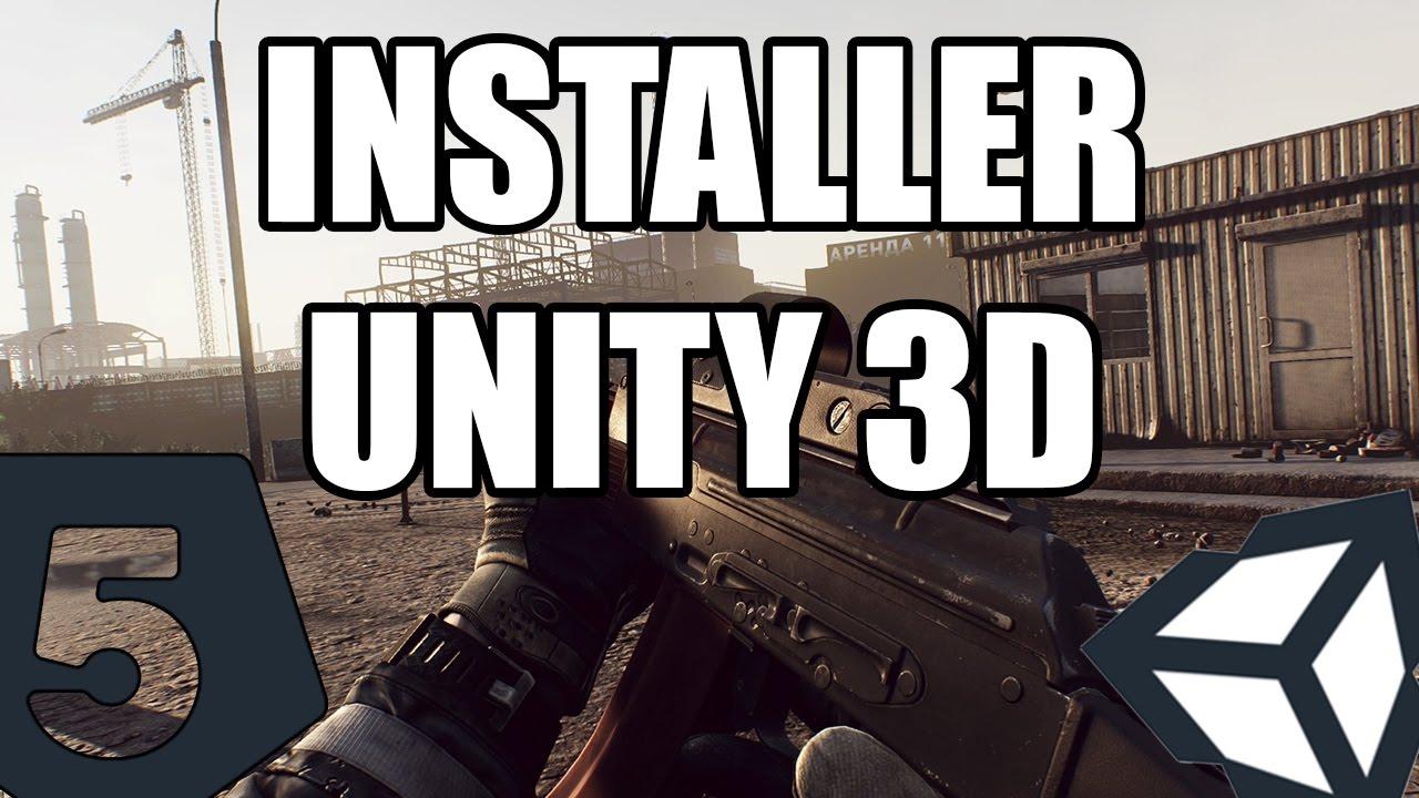 [TUTO] Unity 3D Prise en main #1 : Installation GRATUITE sur PC et MAC
