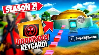 *NEW* ACTIVATING DOOMSDAY *BUNKERS* USING SECRET DOOMSDAY KEYCARD IN-GAME! (Battle Royale)