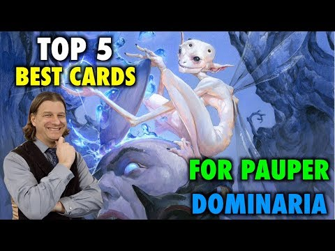 MTG – Top 5 Best Cards For Pauper from Dominaria – Magic: The Gathering