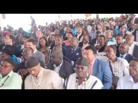 INAUGURATION DE L'USINE DE PRODUCTION DE CIMENT MEDCEM CAMEROUN