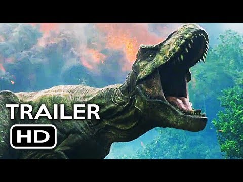 Jurassic World 2: Fallen Kingdom Official Trailer #1 (2018) Chris Pratt Action Adventure Movie HD