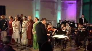Hare Krishna with Symphony orchestra 19.04.2014 Tallinn, Estonia