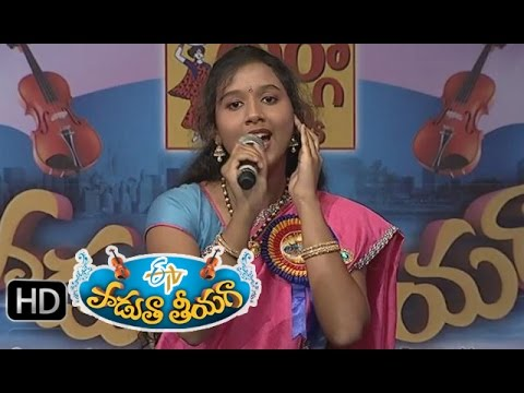 Ye-Sandeham-Ledu-Song--Krishnapriya-Performance-in-ETV-Padutha-Theeyaga--21st-March-2015