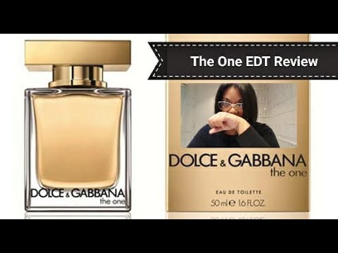 Dolce & Gabbana The One for Women EDT Review | Creamy Floral Deliciousness