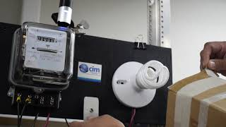 Demostración sobre eficiencia energética en tecnologías de iluminación