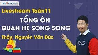 Tổng ôn quan hệ song song – Toán 11 – Thầy Nguyễn Văn Đức
