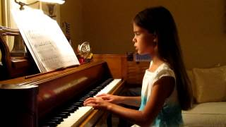 Kate playing/singing her favorite Mamma Mia song