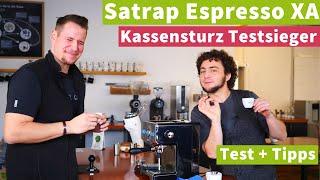 Satrap Espresso XA - Kassensturz Espressomaschinen-Testsieger | Unser Test + Tipps