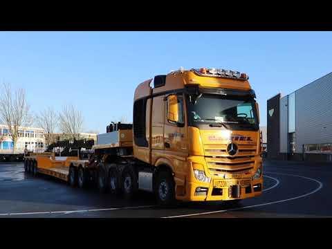 Video bij:Van Riel B.V kiest voor Broshuis PL2 2+4 dieplader