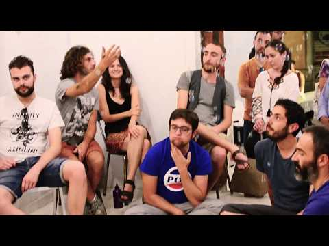 Encuentro en galeria de arte: cine+música