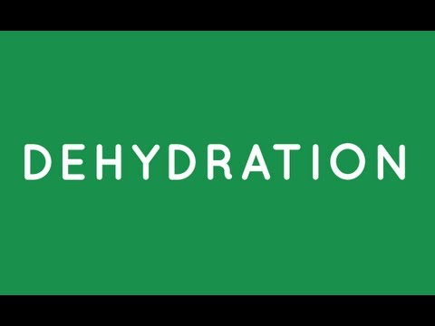 Dehydration Causes Pain and Disease