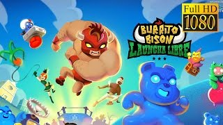 Burrito Bison: Launcha Libre Game Review 1080P Official Kongregate Arcade 2016