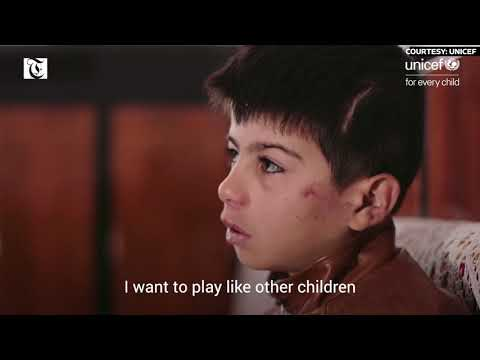 Children are not a target | UNICEF