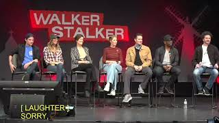 Fear The Walking Dead : Lennie James, Garret Dillahunt, Maggie Grace & Jenna Elfman 2018 Atlanta