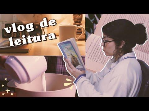 vlog de leitura // neil gaiman, charles dickens e brownies   cozy reading vlog ?