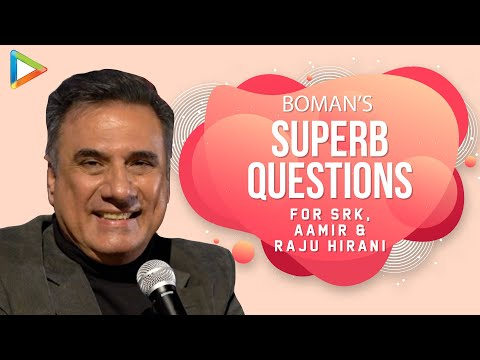 """Shah Rukh Khan is A GREAT FUN, Night Buddy, A Wonderful Guy"": Boman Irani 