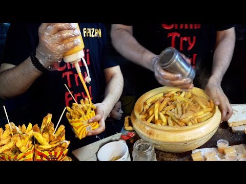 , title : 'Famous French Fries | Mc Donald and OPTP Style Chips | Aloo Ships at Street Food of Karachi Pakistan
