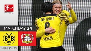Dortmund 3-1 Leverkusen Pekan 34