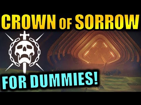 Destiny 2: CROWN OF SORROW RAID FOR DUMMIES! | Complete Raid Guide & Walkthrough!