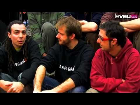 La Pegatina: entrevista en La Veu.cat (Montcada i Reixac)