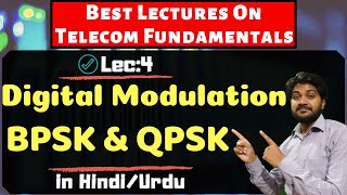 Digital Modulation BPSK/QPSK Part-3-Hindi/Urdu | Digital Communication | wireless communication