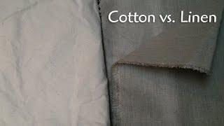 Canvas: Linen Vs. Cotton