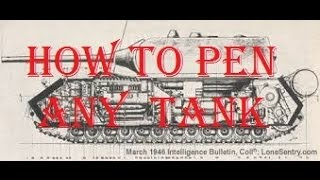 World of Tanks Tips - How to penetrate ANY tank (even Maus) in random games