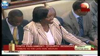 Kenyan Leaders Mourn Michuki