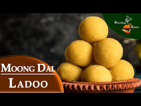 Moong ডাল Ladoo 15 মিনিটের মধ্যে | বাংলা Muger Laddu ম্যারাডোনা | হোলি স্পেশাল মিষ্টি
