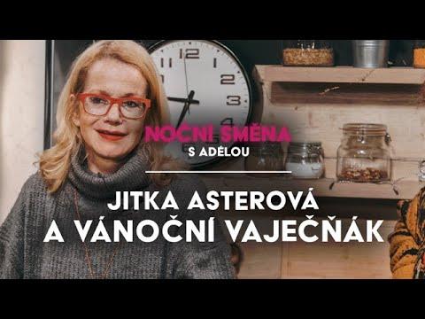 Herečka Jitka Asterová prozradila nejlepší recept na vánoční vaječňák | MALL.TV