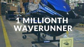Yamaha's 1 millionth Waverunner