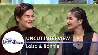 TWBA Uncut Interview: Ronnie Alonte & Loisa Andalio