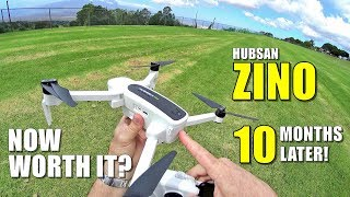 Hubsan ZINO Re-Review 10 Months Later - Any Better? [Flight, Range Test, Pros & Cons]