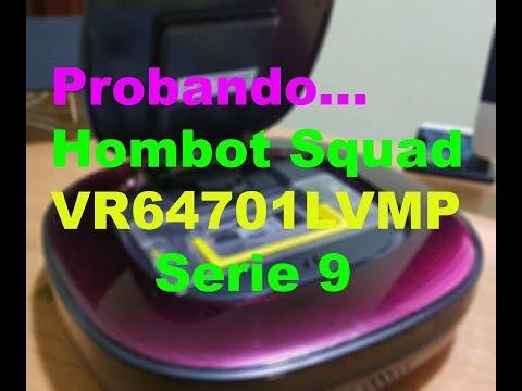 Probando el robot aspirador LG Hombot Square Serie 9 (VR64701LVMP)