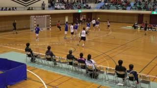 平成28年度石川県高等学校新人体育大会ハンドボール競技小松工業対金沢市工戦後半戦