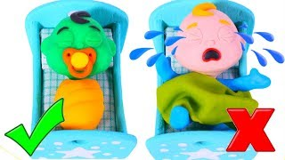 Little Babies Go To Bed ❤ Cartoons For Kids