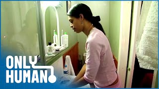 OCD Woman Washes Face 3 Hours Every Night | The House Of Obsessive Compulsives | Only Human