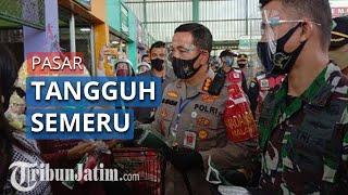Sudah Resmi Jadi Pasar Tangguh Semeru, Pasar Oro-oro Terapkan Protokol Kesehatan