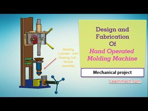 Hand Plastic moulding machine - смотреть онлайн на Hah Life