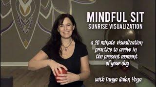 Mindful Sit – Sunrise Visualization