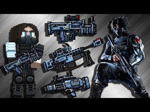 Pixel Gun 3D - Super Soldier Set Gameplay