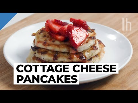 Make Brunch-Worthy Pancakes With Cottage Cheese