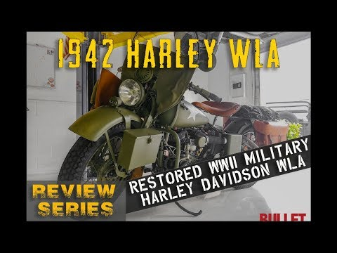Video of '42 Motorcycle - P59V