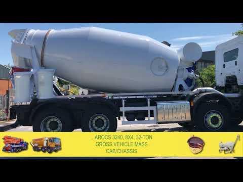 New Mercedes / McPhee 8/9m3 Concrete Mixer 2018