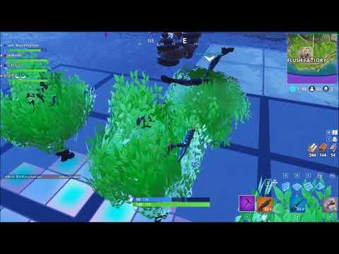 【Fortnite】當四顆草在一起...