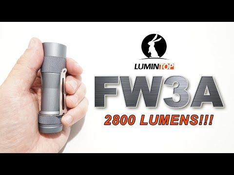 LUMINTOP FW3A review