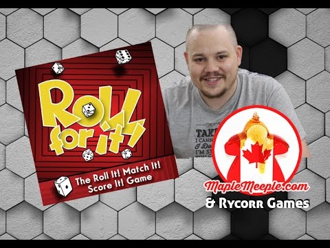 Maple Meeple Reviews: Roll For It!