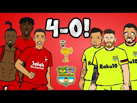 🏆4-0! Liverpool vs Barcelona: The Song🏆 (Champions League Semi-Final 2019 Parody Goals Highlights)