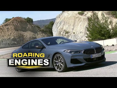 The All-new BMW 8 Series Coupe Highlights • Roaring Engines