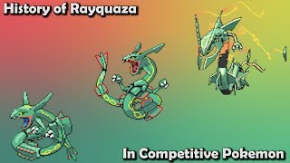 How GOOD was Rayquaza ACTUALLY? - History of Rayquaza in Competitive Pokemon (Gens 3-7)